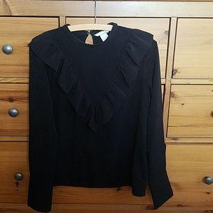 H & M long sleeve blouse